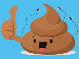 Bring your chats to life with 29 fully animated poop stickers