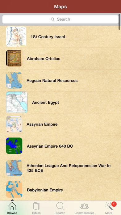 112 聖書に関する地図。簡単のおすすめ画像2
