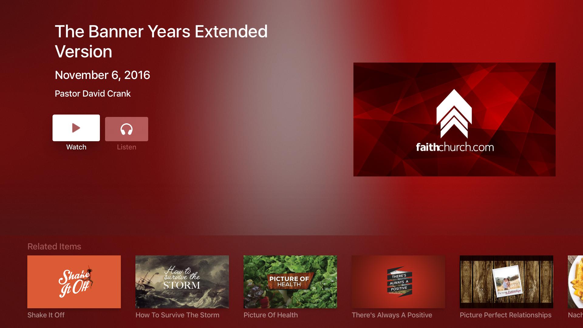 FaithChurch.com screenshot 9