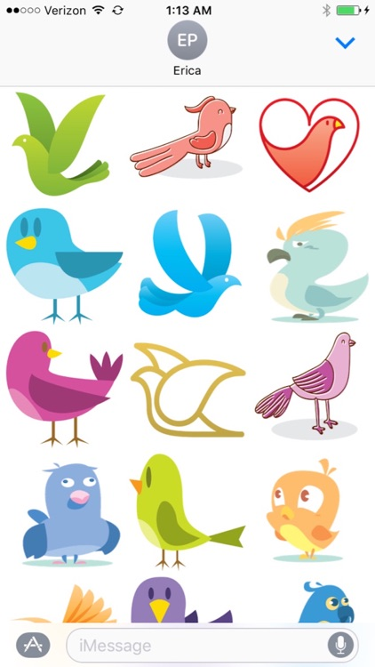 Bird stickers for iMessages screenshot-3