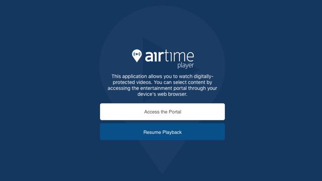 Airtime Player Screenshot