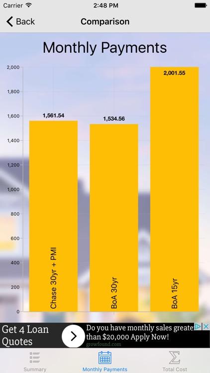 MoCalc - best mortgage calculator screenshot-3