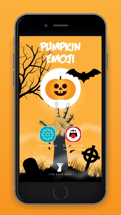 Pumpkin Emoji Keyboard screenshot-4
