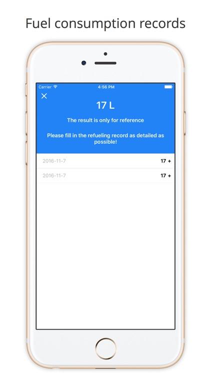Car Cost Tracker Pro - Driving expense recorder screenshot-3