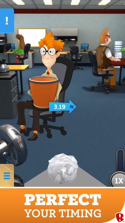 Paper Toss Boss screenshot-0