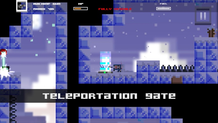 Tons of Bullets! Super 2D Action Adventure Game screenshot-3