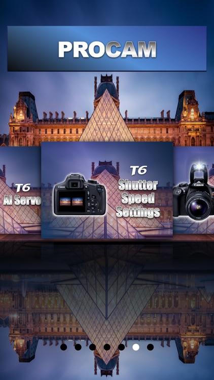 PROCAM for Canon T6 Rebel EOS 1300D screenshot-4