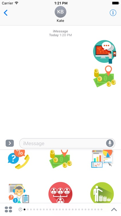 Business Stickers For iMessage
