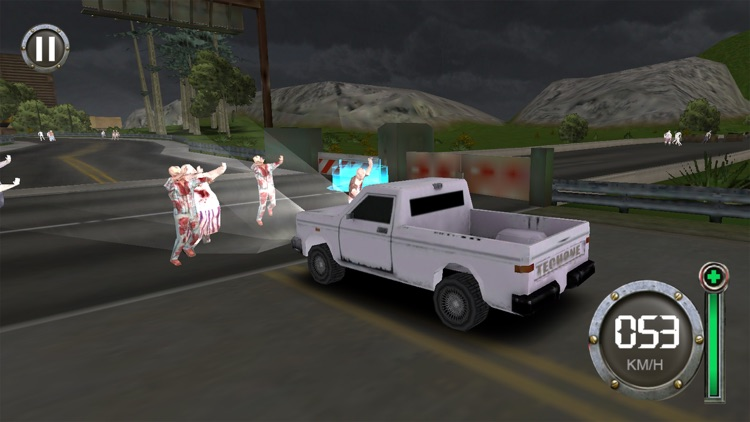 Zombie Escape-The Driving Dead screenshot-3