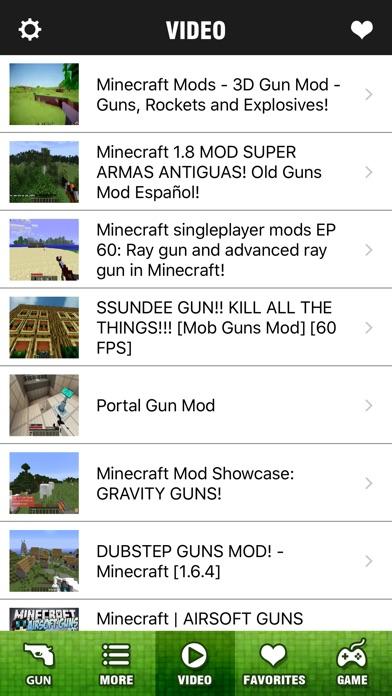 Block Gun Mod Pro - Best 3D Guns Mods Guides for Minecraft PC Edition Screenshot