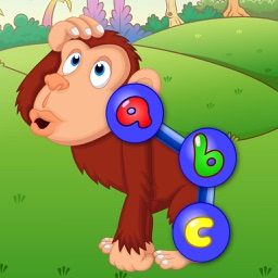 Preschool ABC Zoo Animal Connect the Dot Puzzles