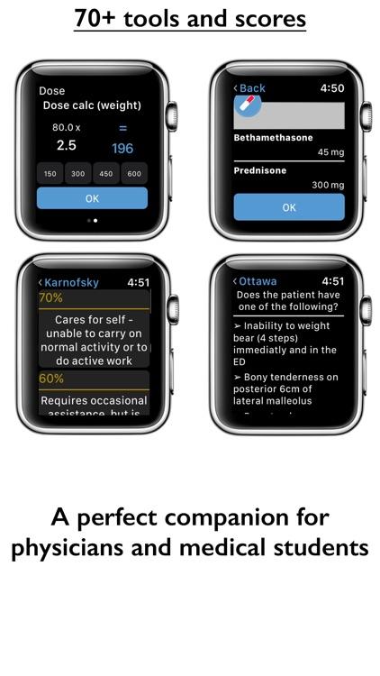 Medical Calc for Apple Watch screenshot-3