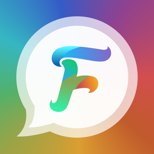 FancyBubble - Text and Emoji Themes for iMessage app logo