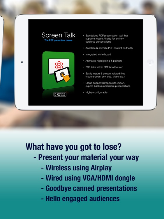 Screen Talk - Presentations Your way screenshot-4