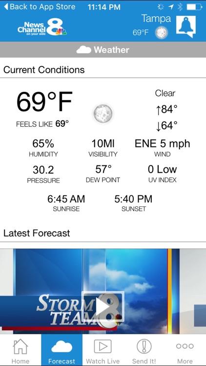 WFLA News Channel 8 - Tampa, Florida screenshot-3