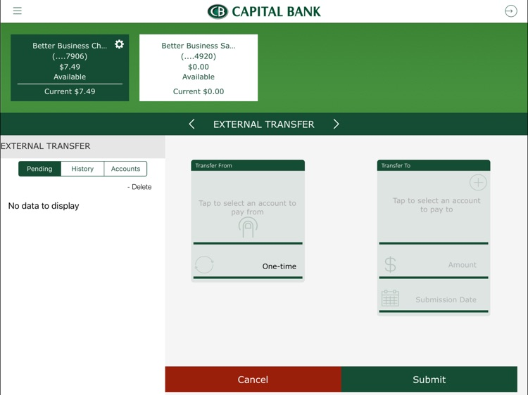 Capital Bank Corporation for iPad screenshot-3