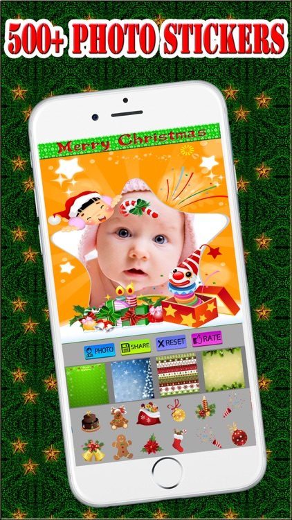 Lovely Christmas Frames Pro screenshot-0