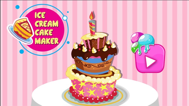 Ice Cream Cake Maker
