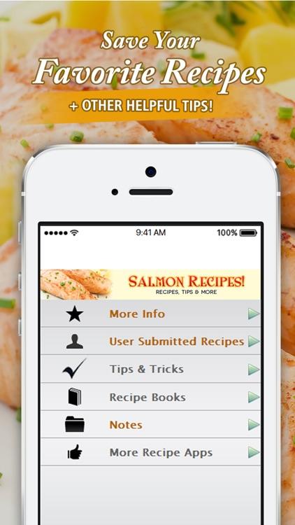 Salmon Recipes!! screenshot-3