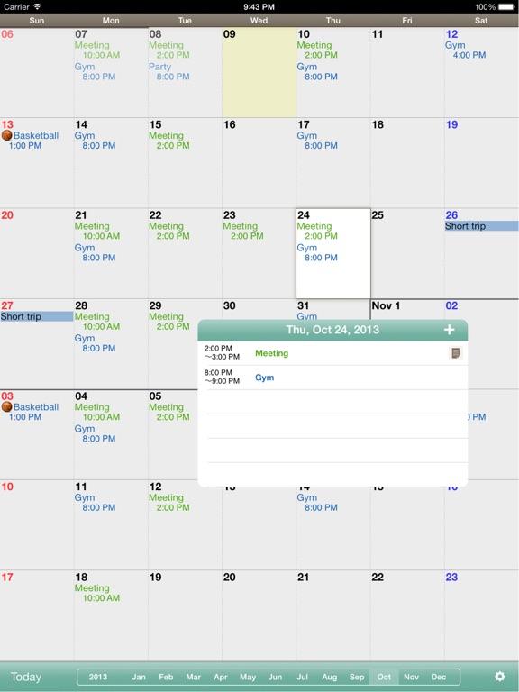 Monthly Calendar Mocahd App Price Drops