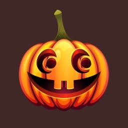 Happy Halloween Pumpkin Sticker Pack 03