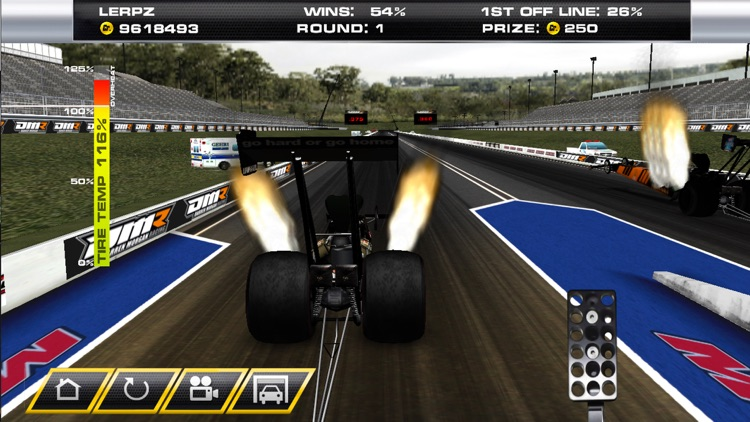 Dragster Mayhem - Top Fuel Simulator screenshot-0