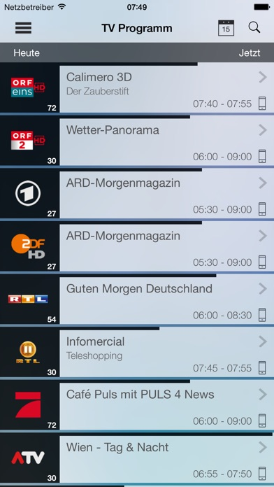 TvActorScreenshot von 1