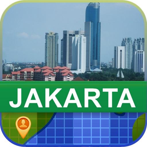 Offline Jakarta, Indonesia Map - World Offline Maps