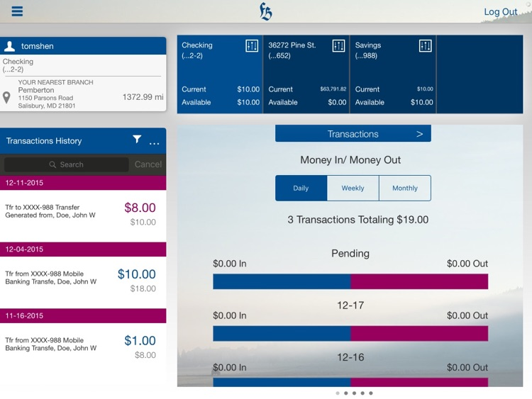 FBW Mobile Banking for iPad