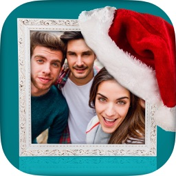 Merry Christmas Photo Frames - Editor & Collage