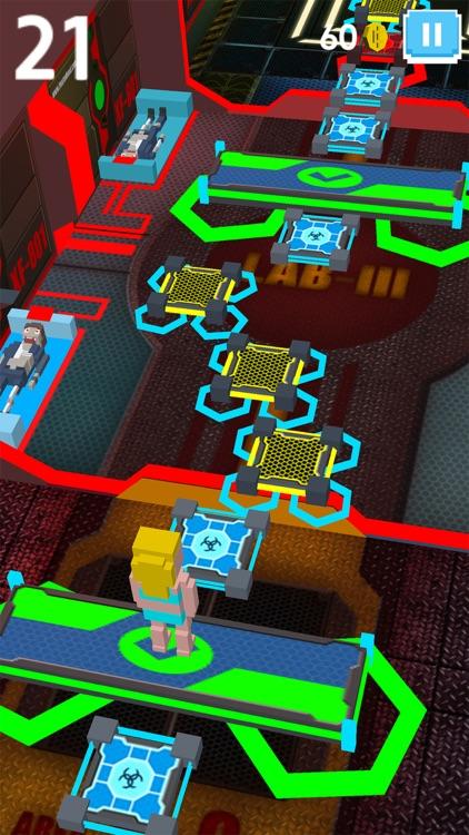 Virus Zombie Run - escape lab screenshot-3