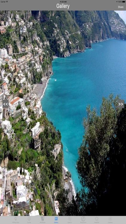 Amalfi Coast Drive Italy Tourist Travel Guide