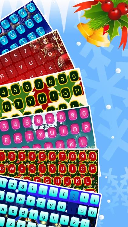 Christmas Emoji Keyboard Themes & Custom Keyboards screenshot-4