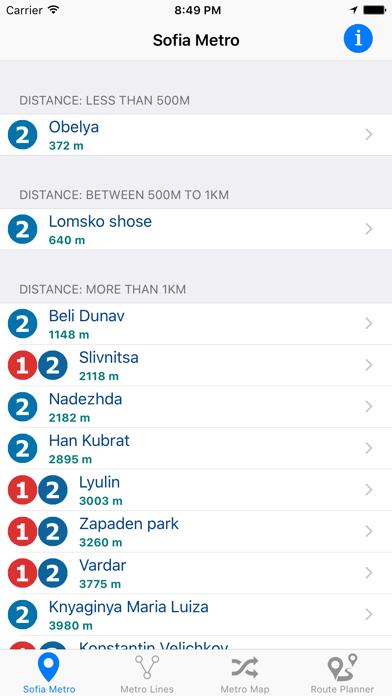 Sofia Metro Screenshot 1