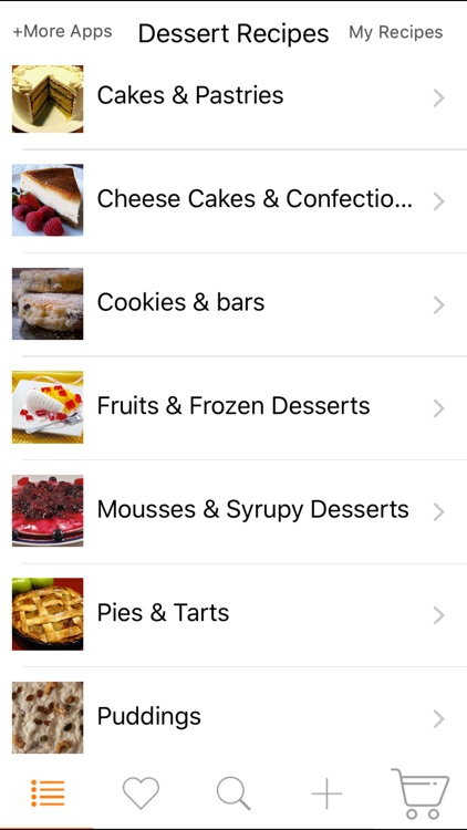 Dessert Recipes - Cake, Cheesecake, Pudding, Pies screenshot-0
