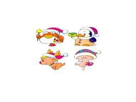 Christmas Emoji - Sticker