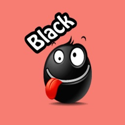 Black Emojis Stickers Pack for iMessage
