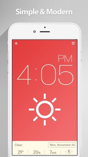 Red Clock. Screenshot