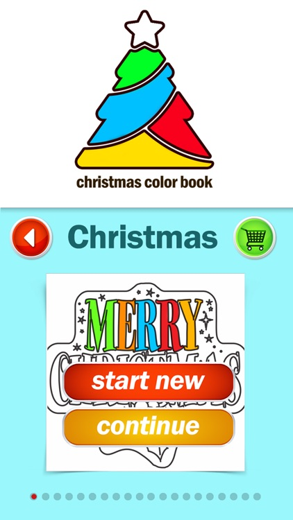 Merry Christmas Coloring Book for Kids: Xmas Games screenshot-0