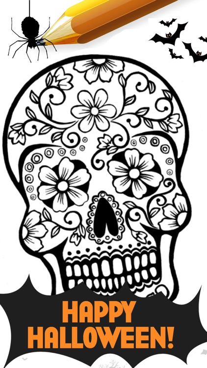 Halloween Alphabet Mandala Coloring Pages By Smit Mankad