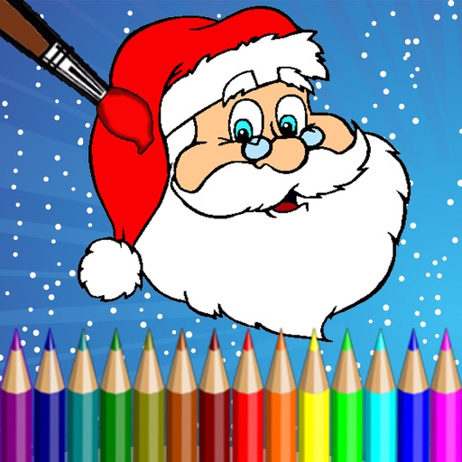 Christmas Coloring Pages for kids - Free drawing