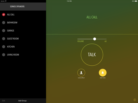 Screenshot #4 pour Intercom for Sonos