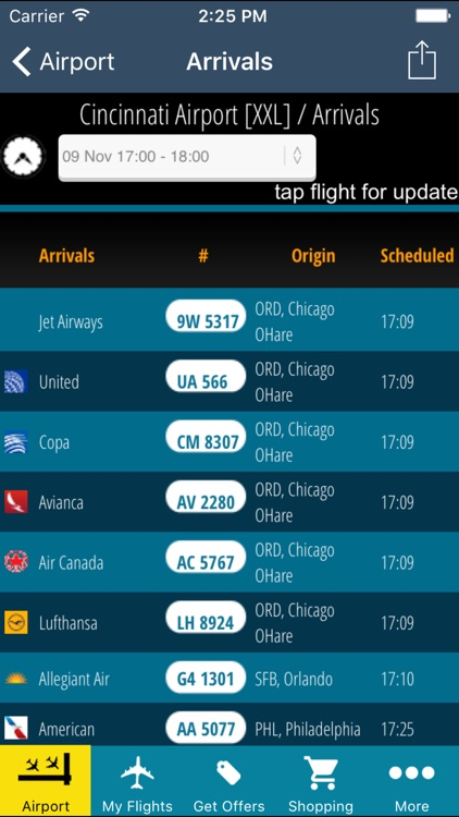 Cincinnati Kentucky Airport Pro + Flight Tracker