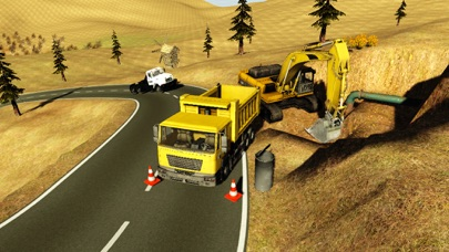 貨物4x4のオフロードトラックドライバーの交通シミュレータのおすすめ画像3