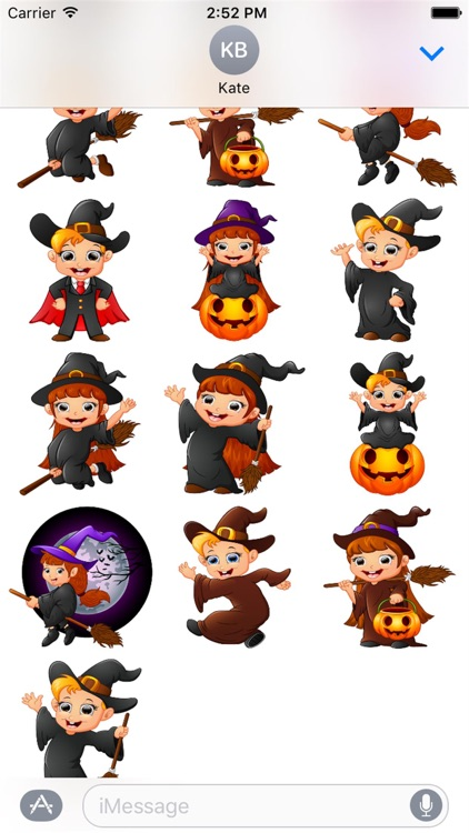 Halloween Stickers 2 screenshot-1