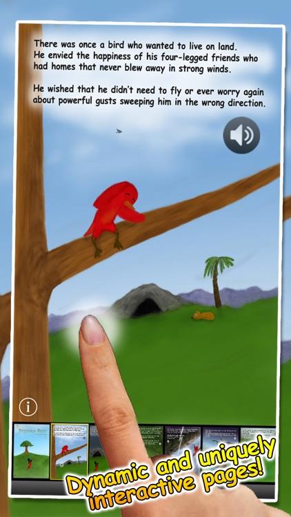 Striding Bird - An inspirational tale for kids screenshot-1