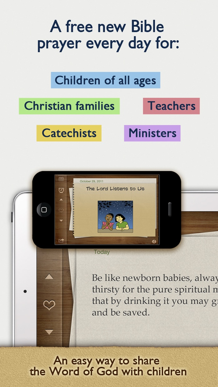 Children's Bible Daily Prayers for Family & School Screenshot