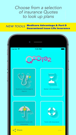 Qooter On The App Store Mesmerizing Guaranteed Issue Life Insurance Quotes
