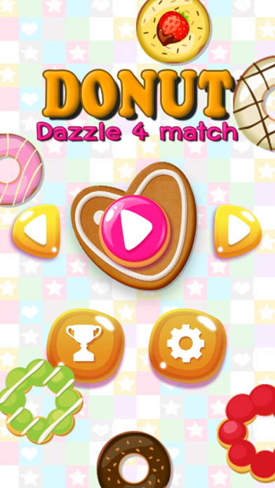 点击获取Donut Cookie - Crush Dazzle Puzzle 4 match