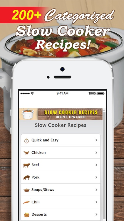 Slow Cooker Recipes. Easy and Quick! screenshot-0